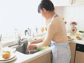 キッチンのつまり、排水管の清掃
