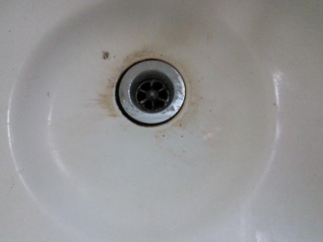 洗面所のつまり、排水管の清掃